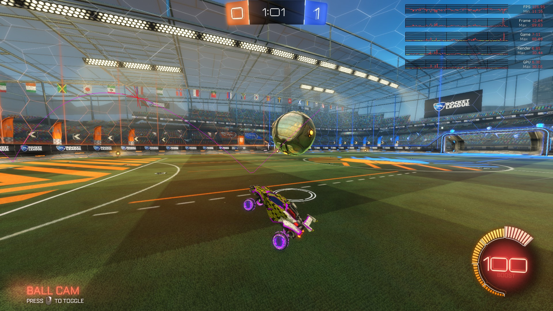 rocket league bot